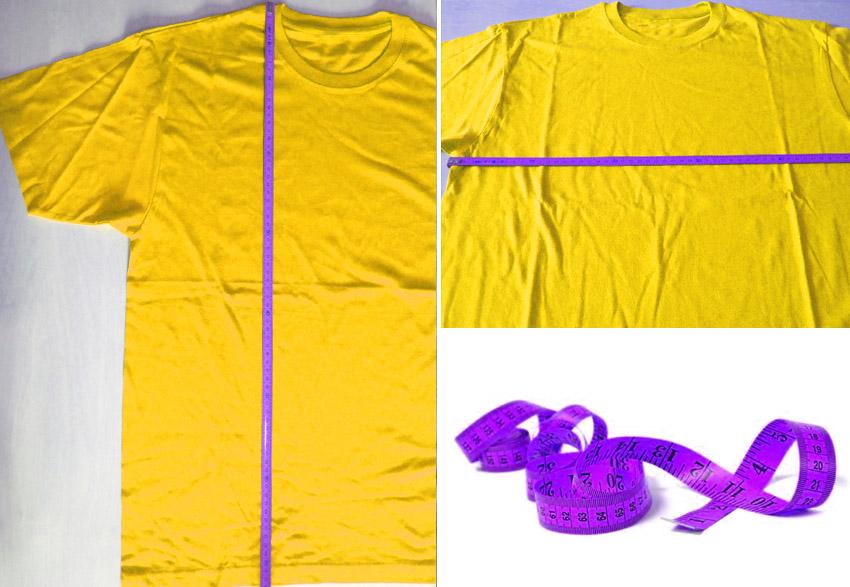 Como elegir el talle de tu camiseta